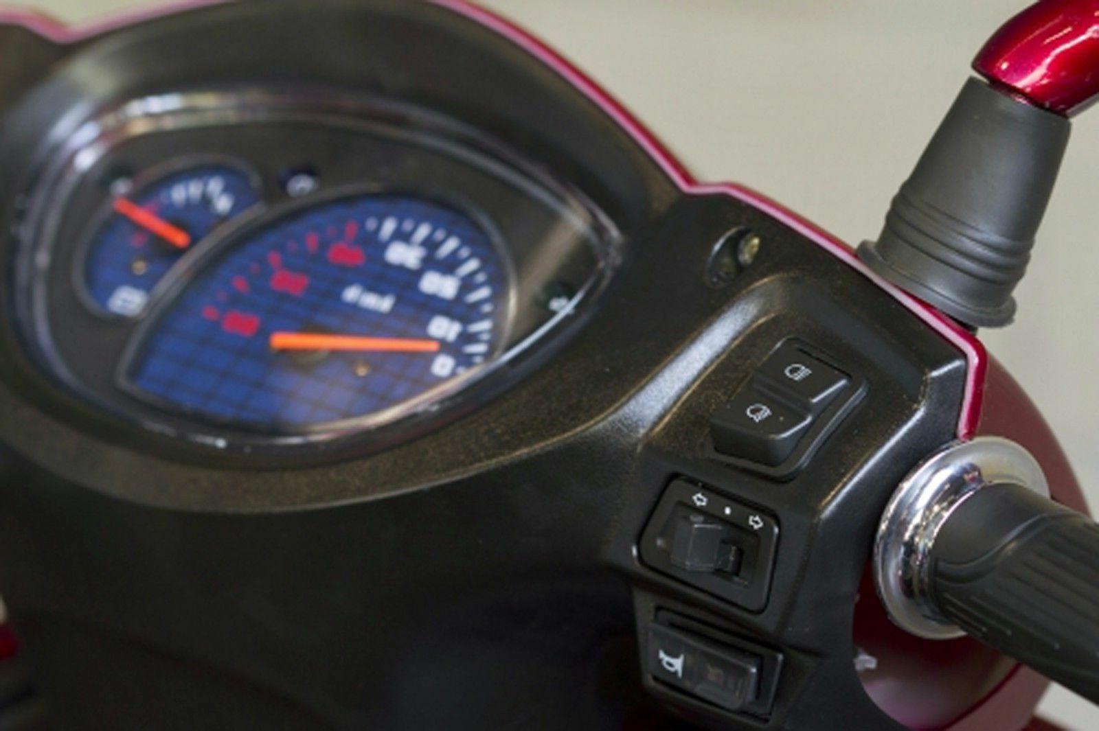 Silver Speedy EW-72 4 Wheel Goes To mph, 500