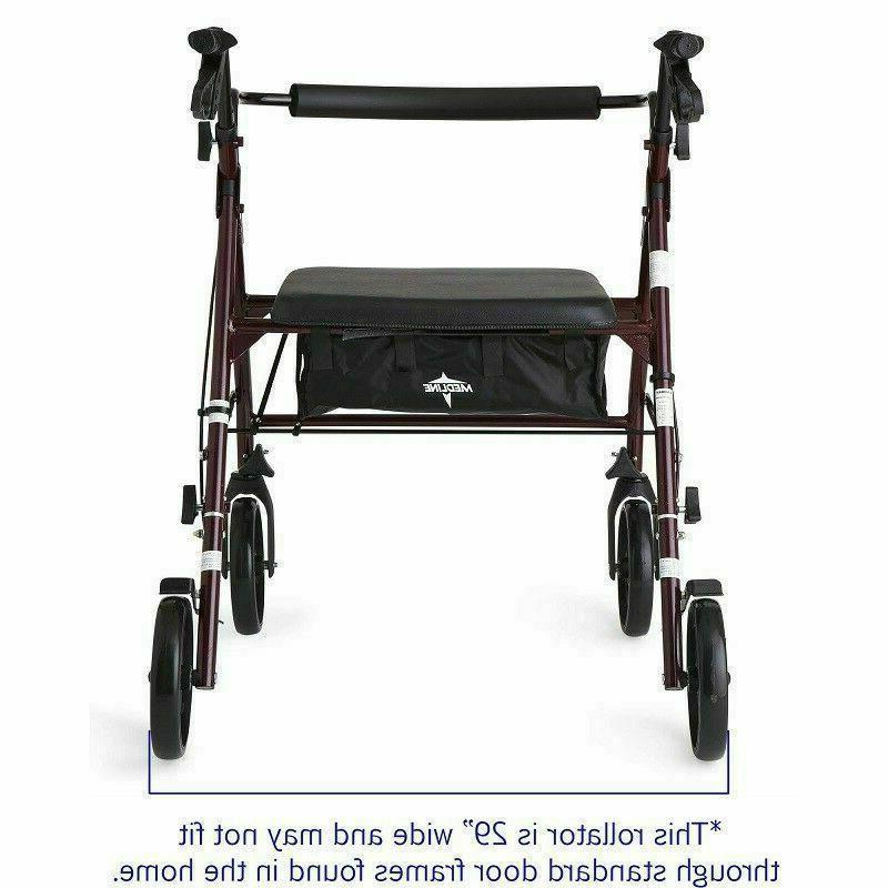Rollator Walker Wide Mobility Duty