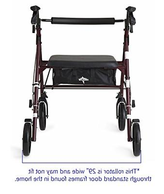 Rolling For Seniors Medical Walkers Transport Chair Heavy