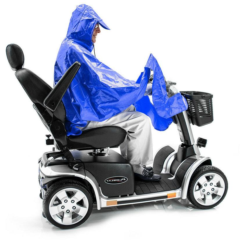 Scooter Poncho Mobility Lightweight, Cape