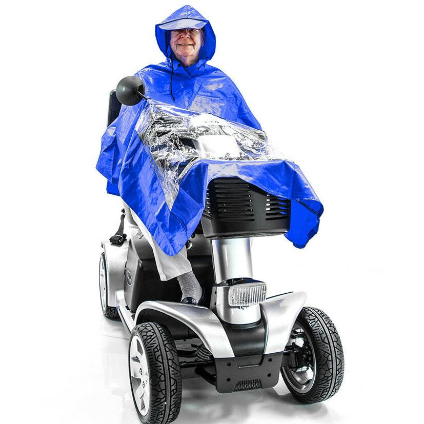 scooter rain poncho j800 lightweight waterproof cape
