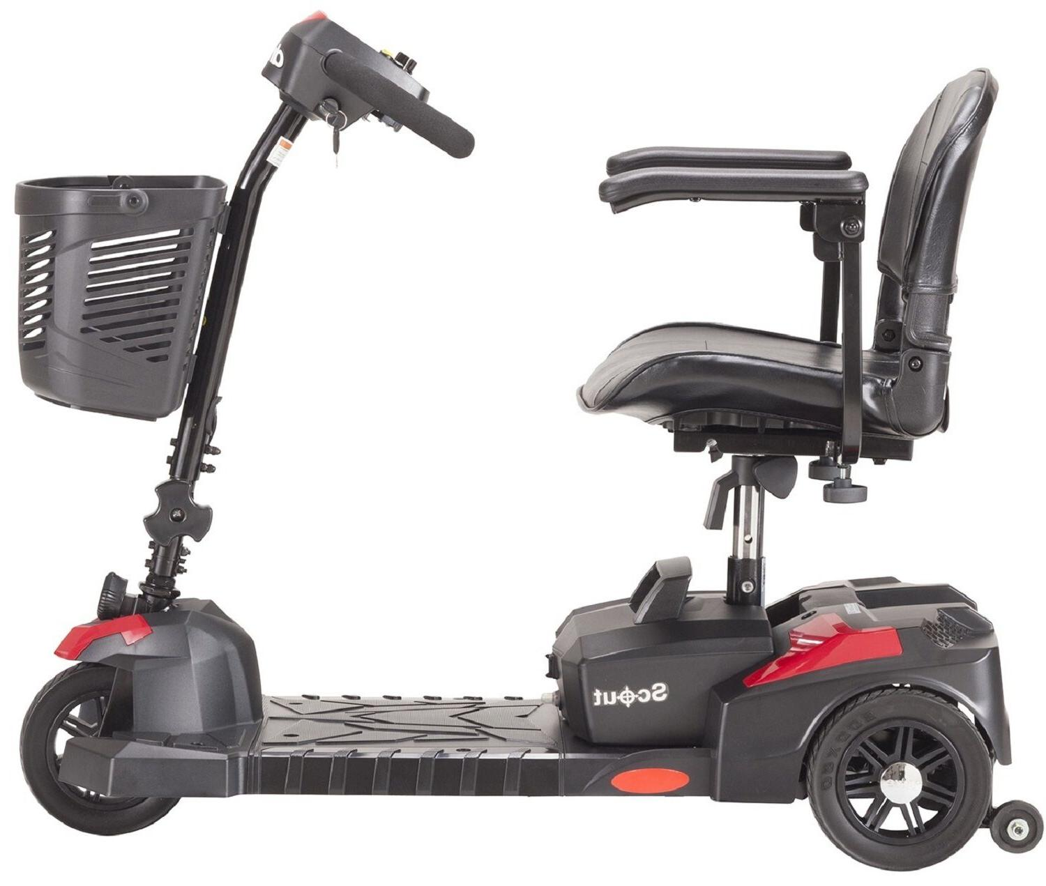 Wheel Compact Electric Power Mobility Scooter 12AH 20AH