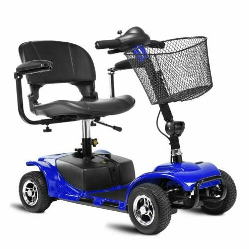 Scout Transportable Electric Mobility Blue MA