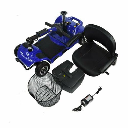Scout Compact Transportable Electric Scooter Blue HOT
