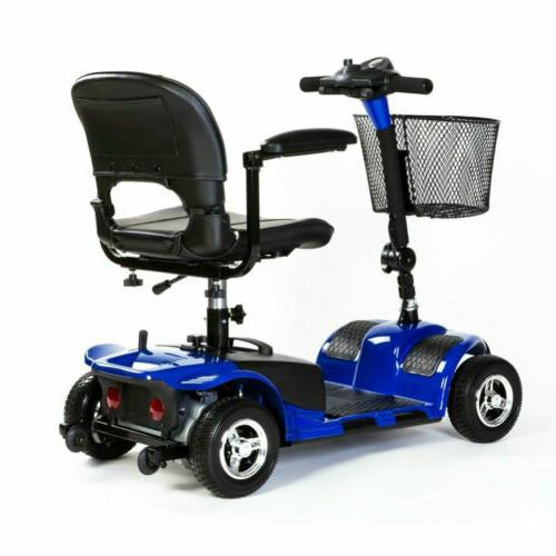 scout 4wheel compact transportable electric mobility scooter