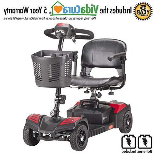 scout compact power scooter incl