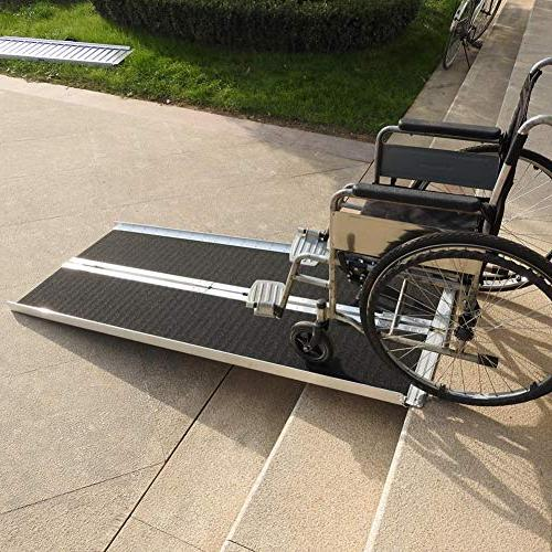 NOTTAG US Aluminum Wheelchair Scooter Mobility Ramp