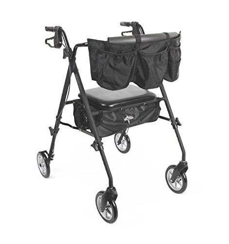 stealth deluxe mobility folding aluminum