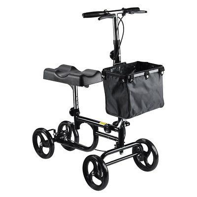 steerable foldable knee walker scooter