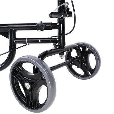 Foldable Knee Walker Scooter Turning Brake Medical