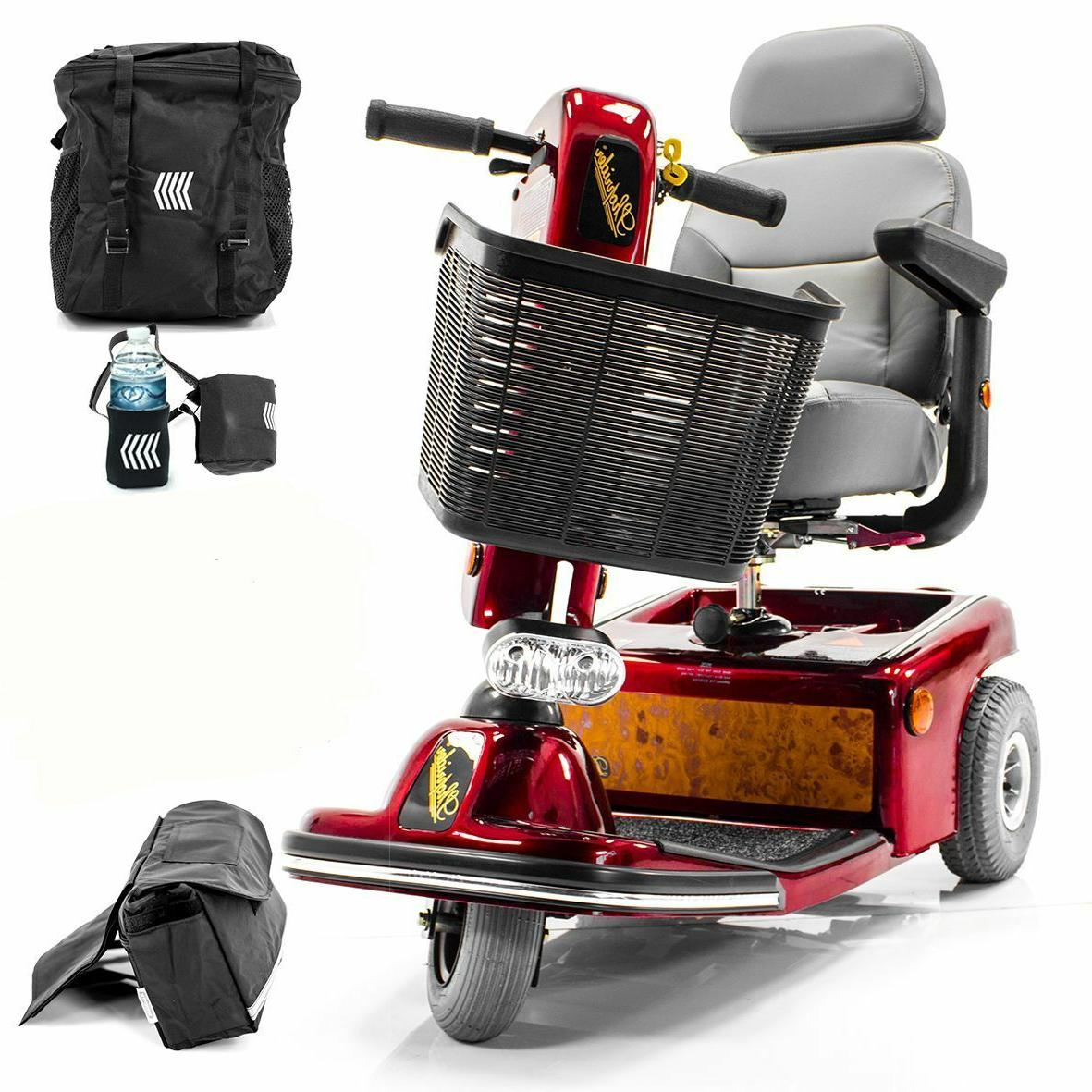 sunrunner 3 wheel electric mobility scooter 888b