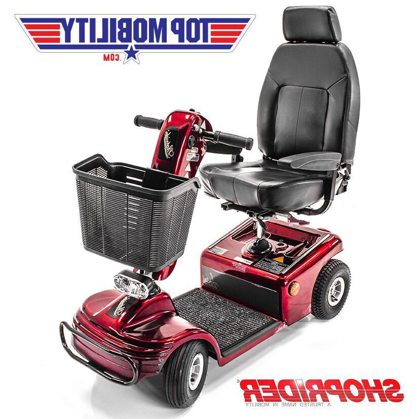 Shoprider 4 Wheel Scooter 888B-4 FREE