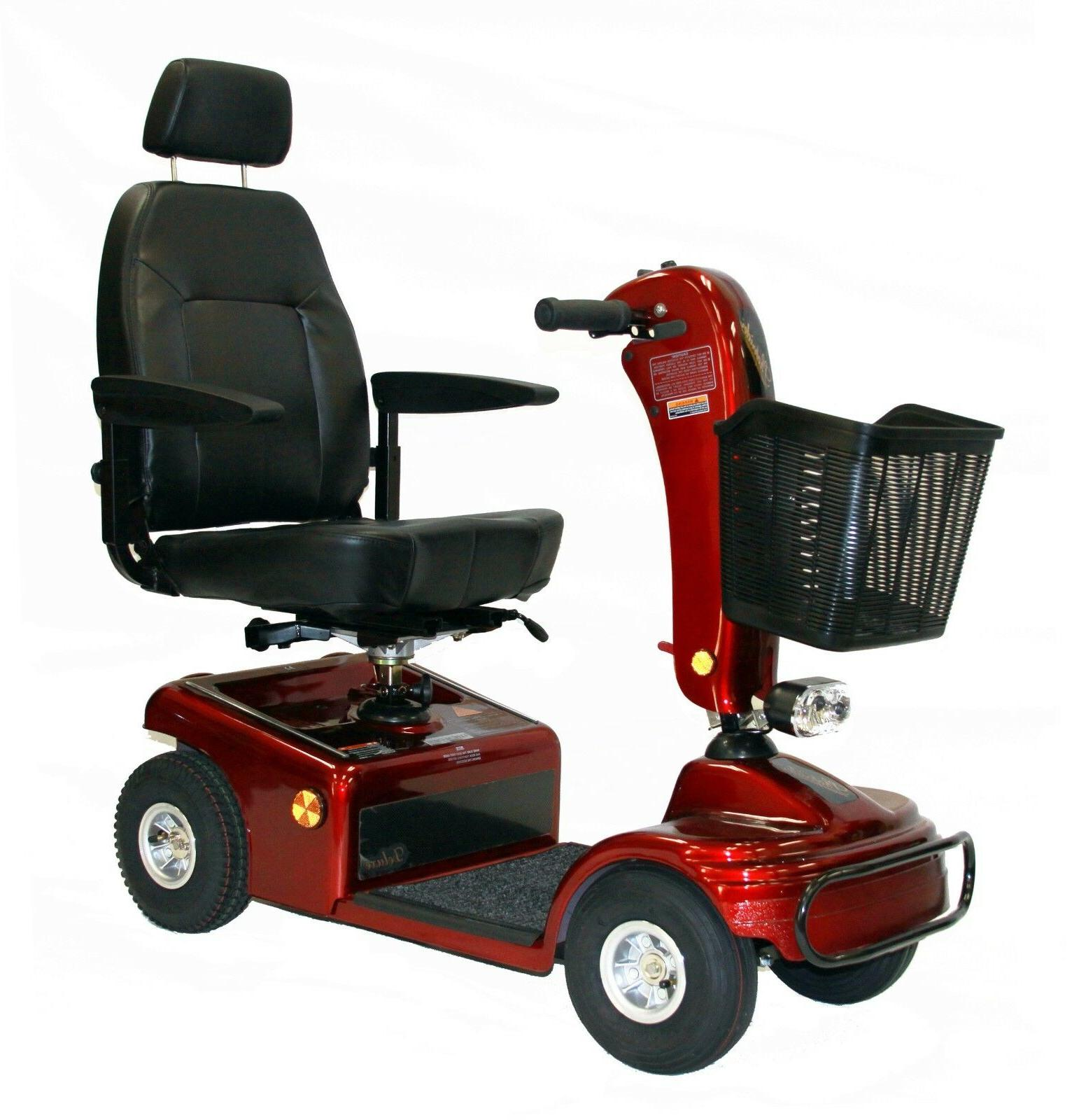 Shoprider Sunrunner Scooter 888B-4 with FREE ACCESSORIES