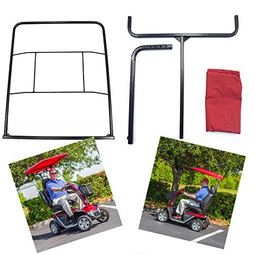 Sunshade Canopy Weather Protection Pride, Mobility Scooter
