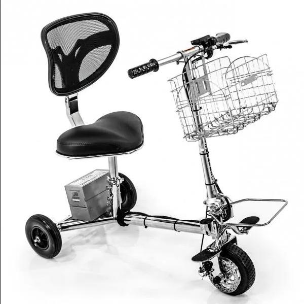 the foldable mobility scooter