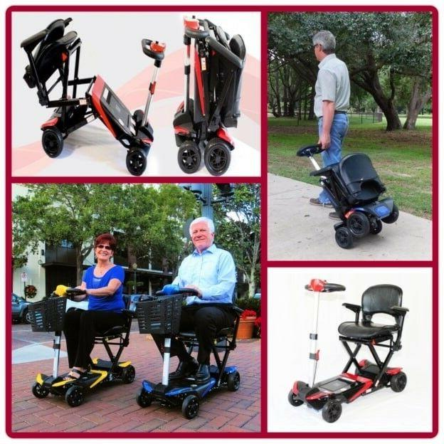 transformer automatic folding mobility travel scooter