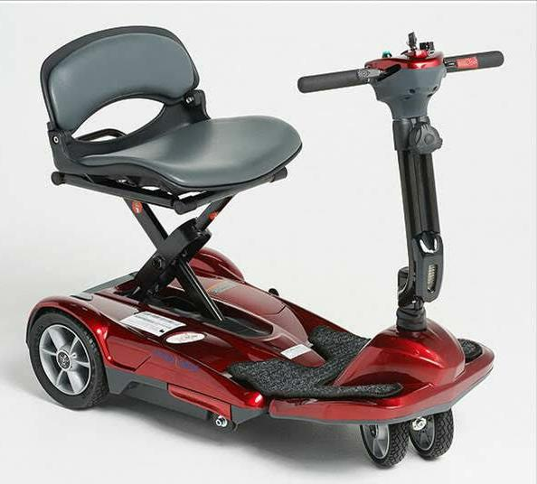 transport move manual folding mobility travel scooter