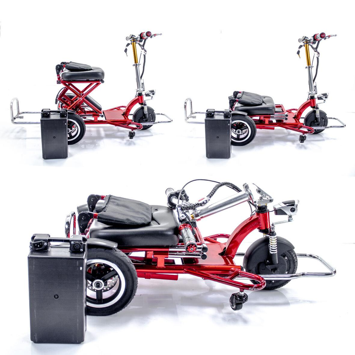 Triaxe Foldable Mobility Scooter Cane