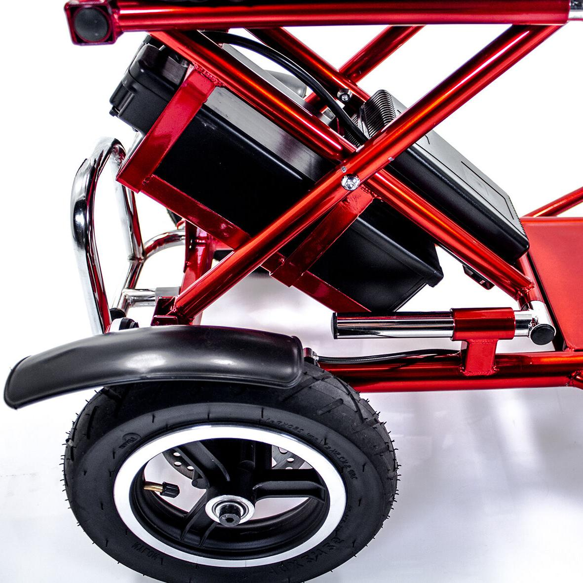 Triaxe Sport Foldable Mobility Scooter + Cane & Cup