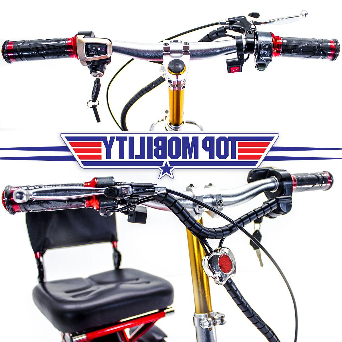 Triaxe Sport Mobility Scooter + Cane & Cup Holder