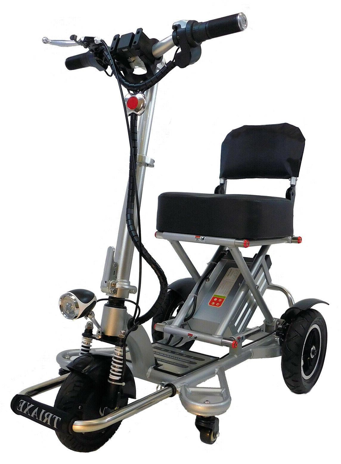 triaxe sport foldable portable 3 wheel electric