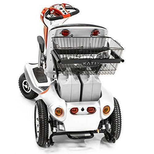 Tzora 4-Wheel Mobility Travel Large Red