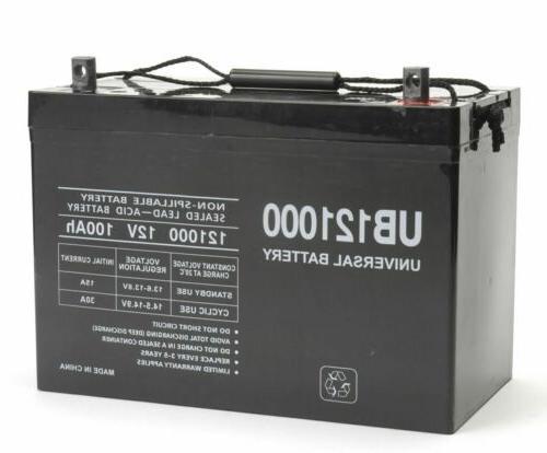ub121000 45978 100ah 90ah battery