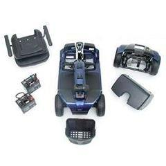 VICTORY Mobility 4-wheel Scooter BLUE Accessories