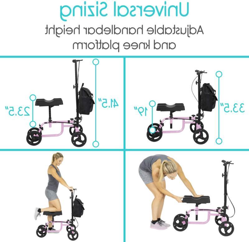 Vive Knee Walker - Steerable For Broken Leg, Foot, Injuri