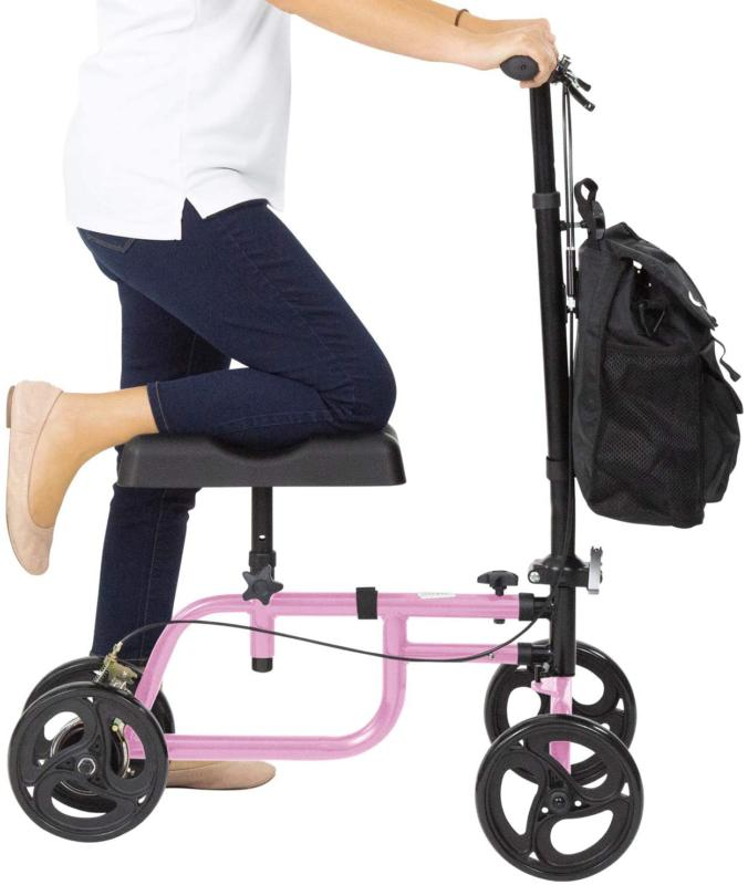 Vive Mobility Knee Walker - Steerable Scooter For Broken Leg