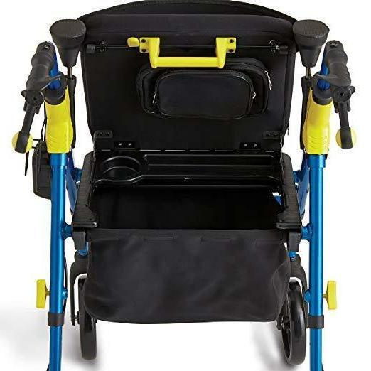 """Walker Folding Mobility 8"""" Wheels"""