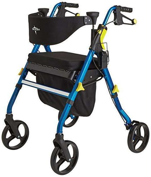 walker premium empower folding mobility rollator 8