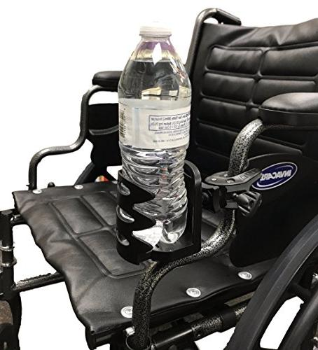 Water Drink Cup Electric Manual Walker | Mobility Scooter | Bed Rails Rollator | Transport Accessories
