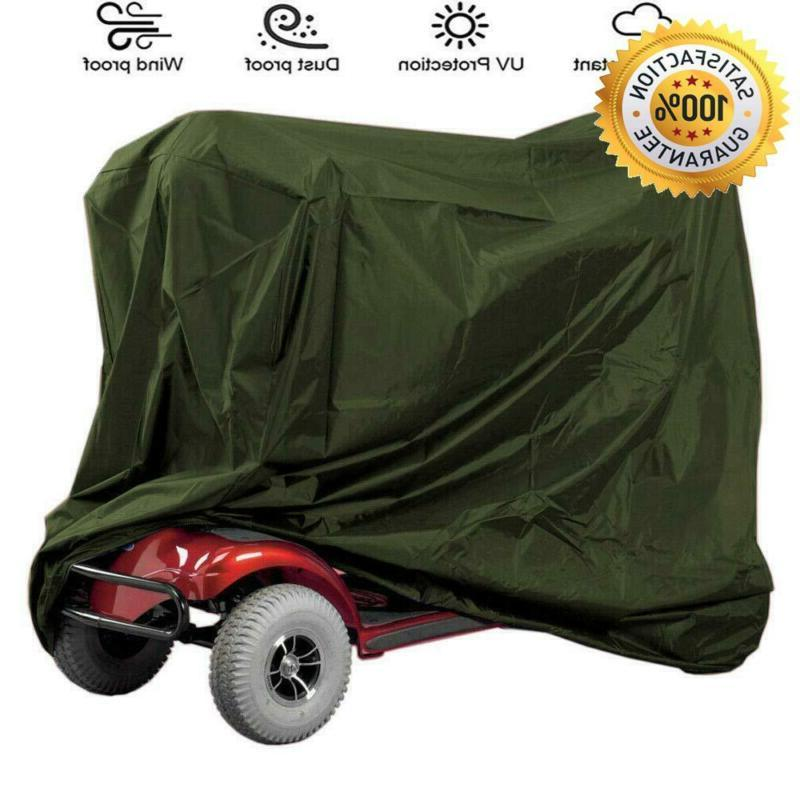 waterproof power assisted mobility scooter cover accessories