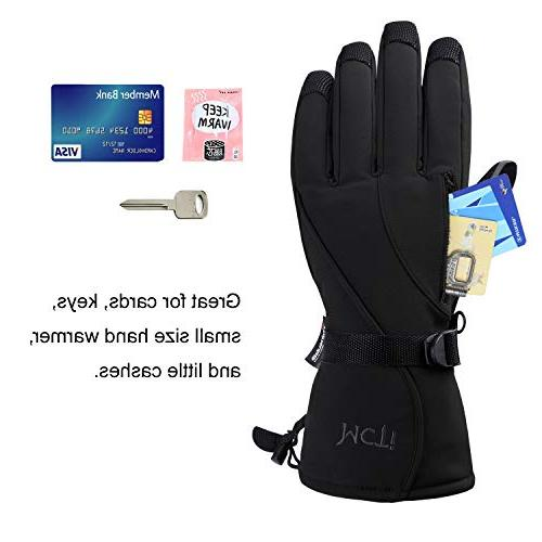 MCTi Waterproof Women Winter Thinsulate Warm Snow Snowmobile Ski Gloves M