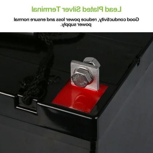 Weize 12 Volt AGM Battery Wheelchair