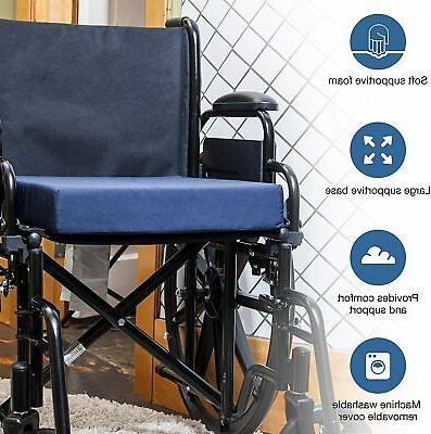 Wheelchair Seat Cushion Foam Pad Mobility Scooter Home Car O