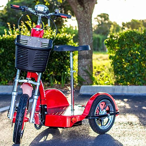 Challenger X Electric Recreational Mobility Scooter W Power, 18mph