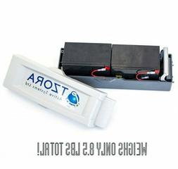 Lithium Battery Pack Assembly + Charger for TZORA Travel Mob