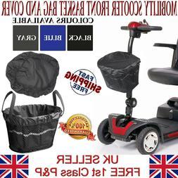 LTG Mobility Scooter Front Basket Bag Liner & Cover Waterpro