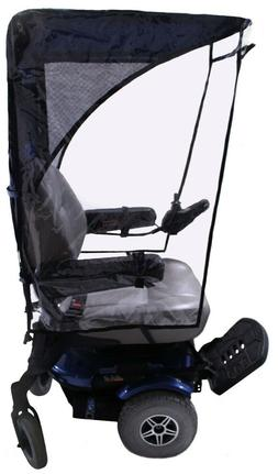 Max Protection WeatherBreaker Canopy for Mobility Scooters &