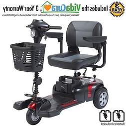 "Drive Medical Phoenix 3 Wheel Heavy Duty Scooter, 17.5"" Wi"