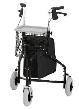 NOVA Medical Products Traveler 3-Wheel Walker, 3-Wheel Rolla