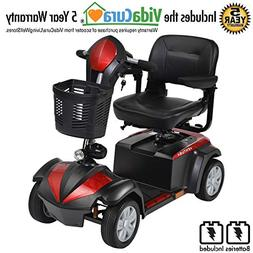 Drive Medical Ventura 4 Wheel Scooter Including 5 Year Exten