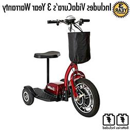 Drive Medical ZooMe 3-Wheel Recreational Scooter Including 3