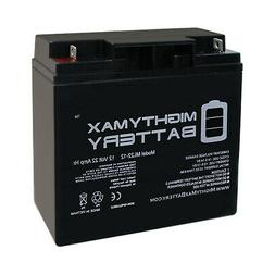 Mighty Max 12V 22AH Battery for Drive Medical Ventura 4 Whee