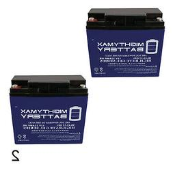 Mighty Max 2 Pack - 12V 22AH GEL Battery for EW72 Mobility S