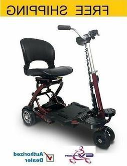 EV Rider - MiniRider Folding Mobility scooter , Red, Free Sh