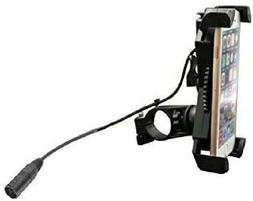 Mobile Phone Holder with USB Charger for Mobility Scooters a