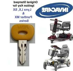 Mobility Scooter KEY for INVACARE Lynx, Panther LX, SX and M